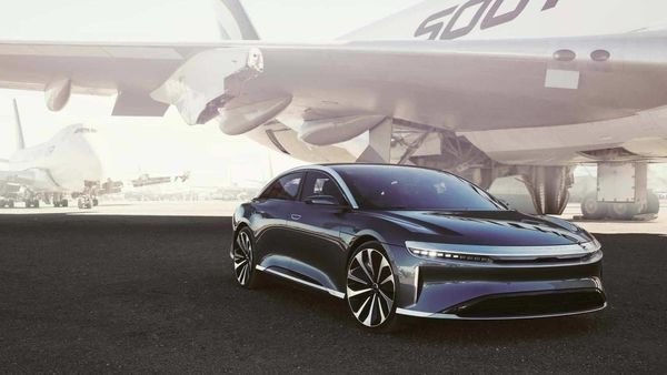 Lucid Air is touted as a luxury sedan with unmatched drive capabilities. It will be unveiled on September 9. (Photo courtesy: Lucid Motors)
