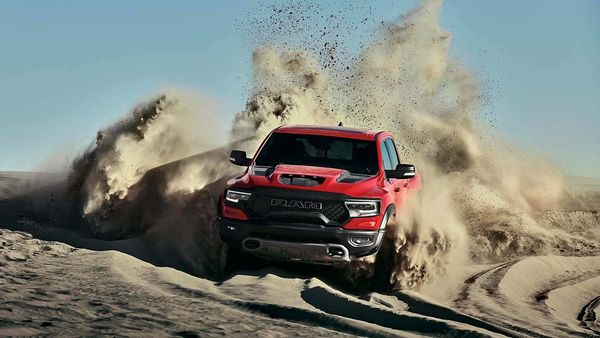 RAM TRX 2021 is claimed to be the most powerful pickup truck in the world. (Photo courtesy: RAM Trucks)