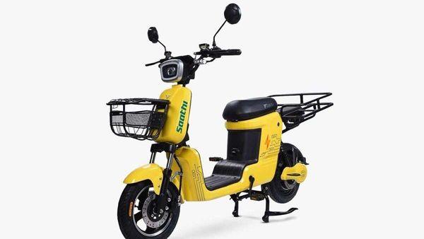 Saathi e-moped