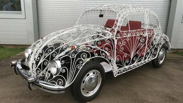 The Wedding Beetle was the creation of a Mexican blacksmith named Rafael Esparza-Prieto to attract new customers.