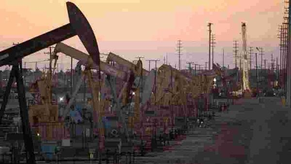 Oil rig pumpjacks (File photo used for representational purpose only) (REUTERS)