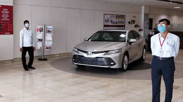 Automobile demand is picking up but the over-sensitivity and jitteriness of financial companies hampering sales, claims Toyota.