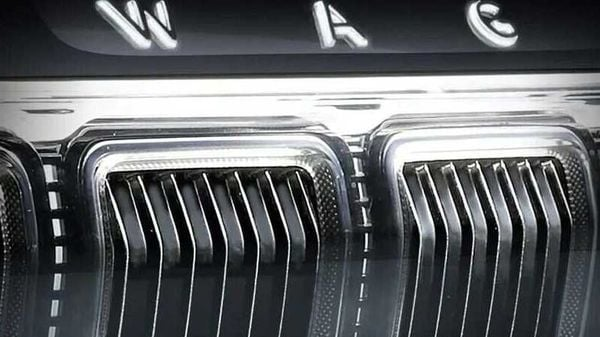 Jeep Grand Wagoneer front main grille