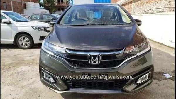 2020 Honda Jazz BS 6. Image Credits: Youtube/Ujjwalsaxena