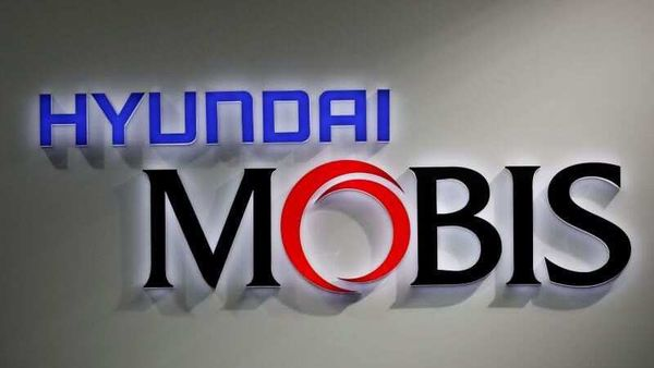 File photo - The logo of Hyundai Mobis is seen during the 2019 Seoul Motor Show in Goyang, South Korea. (REUTERS)