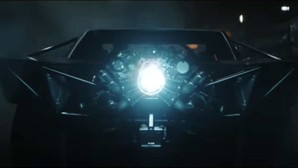 Screengrab from the trailer of The Batman movie showing the new Batmobile. (Photo courtesy: YouTube)