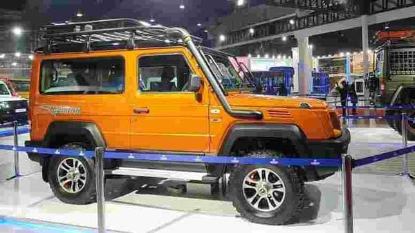 The Standard Gurkha unveiled by Force Motor as competition to Mahindra Thar.