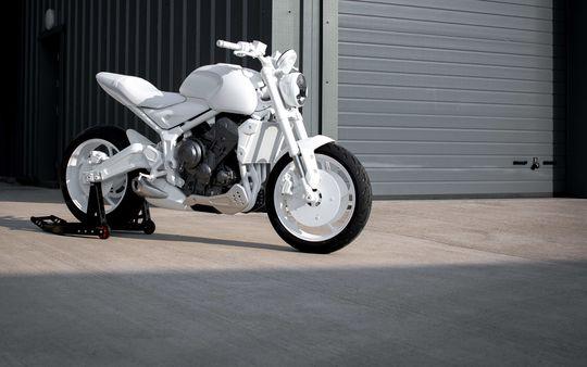 Triumph Trident design prototype pictured.