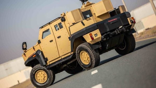 File photo of Mahindra Armored Light Specialist vehicle used for representational purpose.