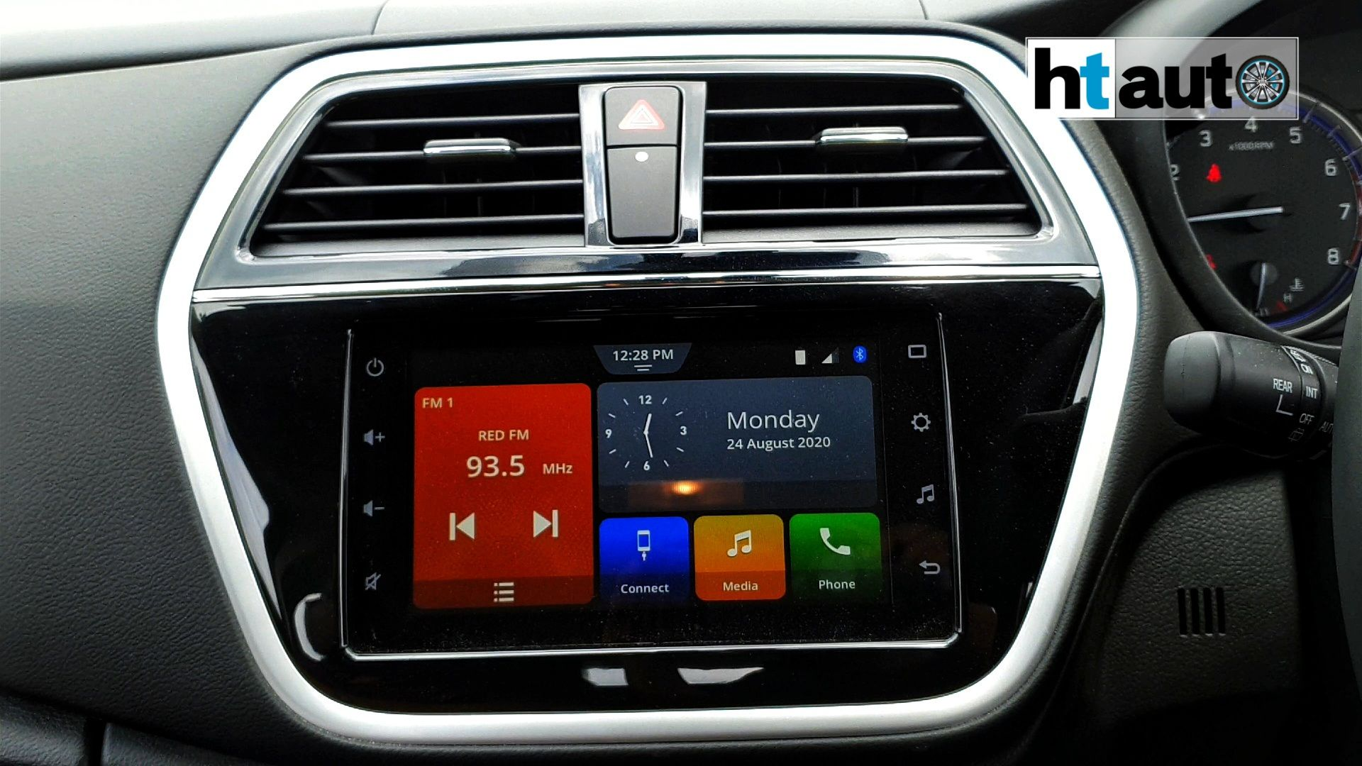 Inside, there is a new 7-inch Smartplay Studio 2.0 system. The infotainment screen is responsive to touch, easy to operate and offers smartphone connectivity options. (HTAuto/Sabyasachi Dasgupta)