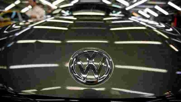 FILE PHOTO: The logo of Volkswagen company (REUTERS)