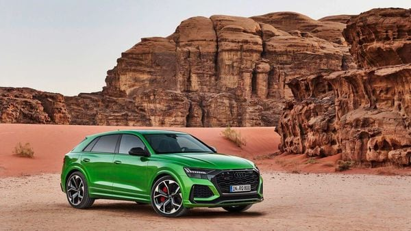 While the Q8 is quite a stunning SUV to look at, the RS Q8 takes visual cues up several notches and looks stunning while standing still.