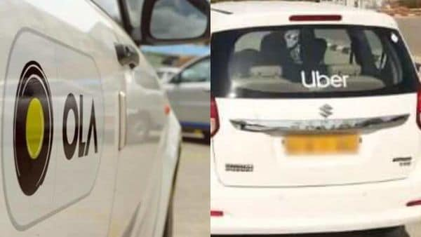Ola and Uber cabs