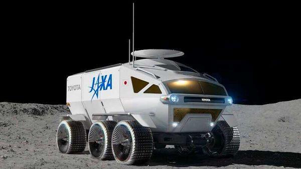 Photo of Toyota-JAXA moon rover called Lunar Cruiser.