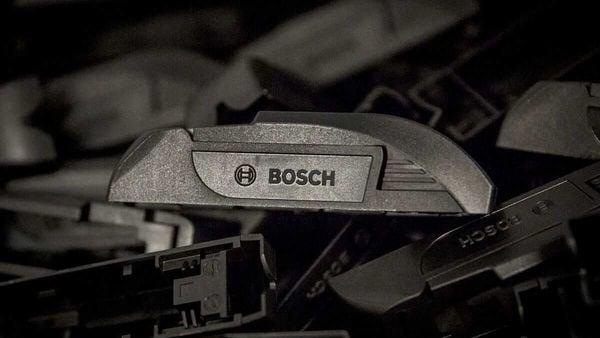 Photo of Bosch logo for representational purpose