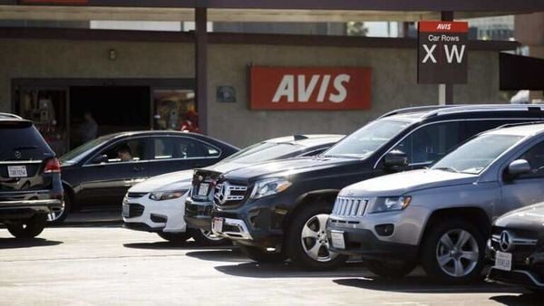 File photo of vehicles as part of Avis fleet. (Photo courtesy: avis.co.in)