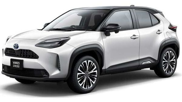 Photo of the new generation Toyota Yaris Cross compact SUV.