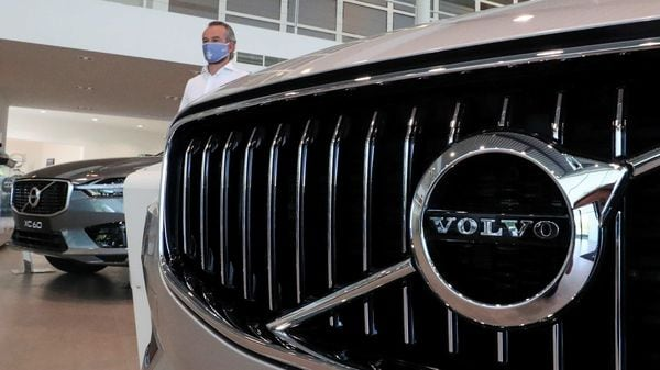 File photo: Volvo currently sells sport utility vehicles (SUVs) XC40, XC60 and XC90, cross country V90, S90 sedan and plug-in hybrid XC 90 in India. (REUTERS)
