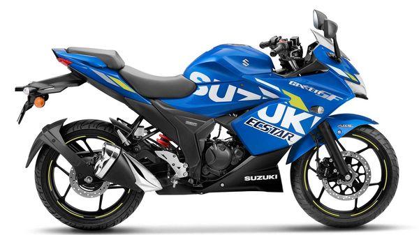 Representational file photo of Suzuki Gixxer SF BS 6 in MotoGP Edition.