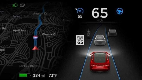 Tesla latest software update will allow its cars to detect speed limit signs.
