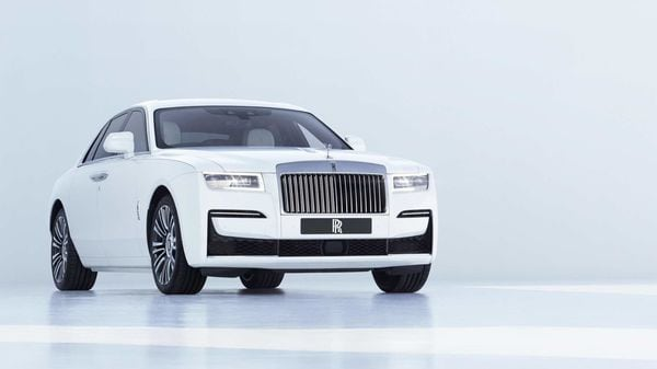 Rolls-Royce has unveiled its almost-silent Ghost sedan.