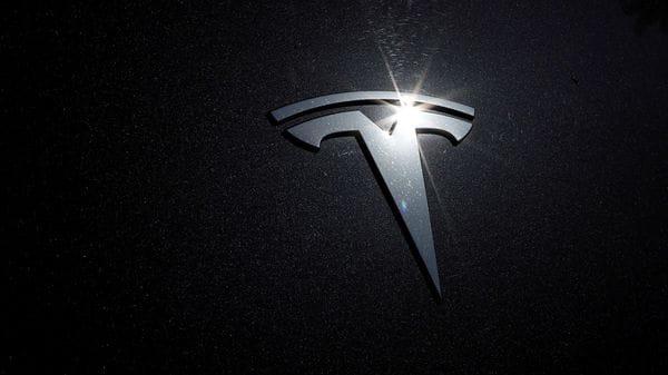 File photo of Tesla logo. (REUTERS)