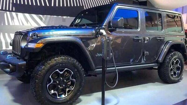 Jeep Wrangler 4xe plug-in hybrid (PHEV)