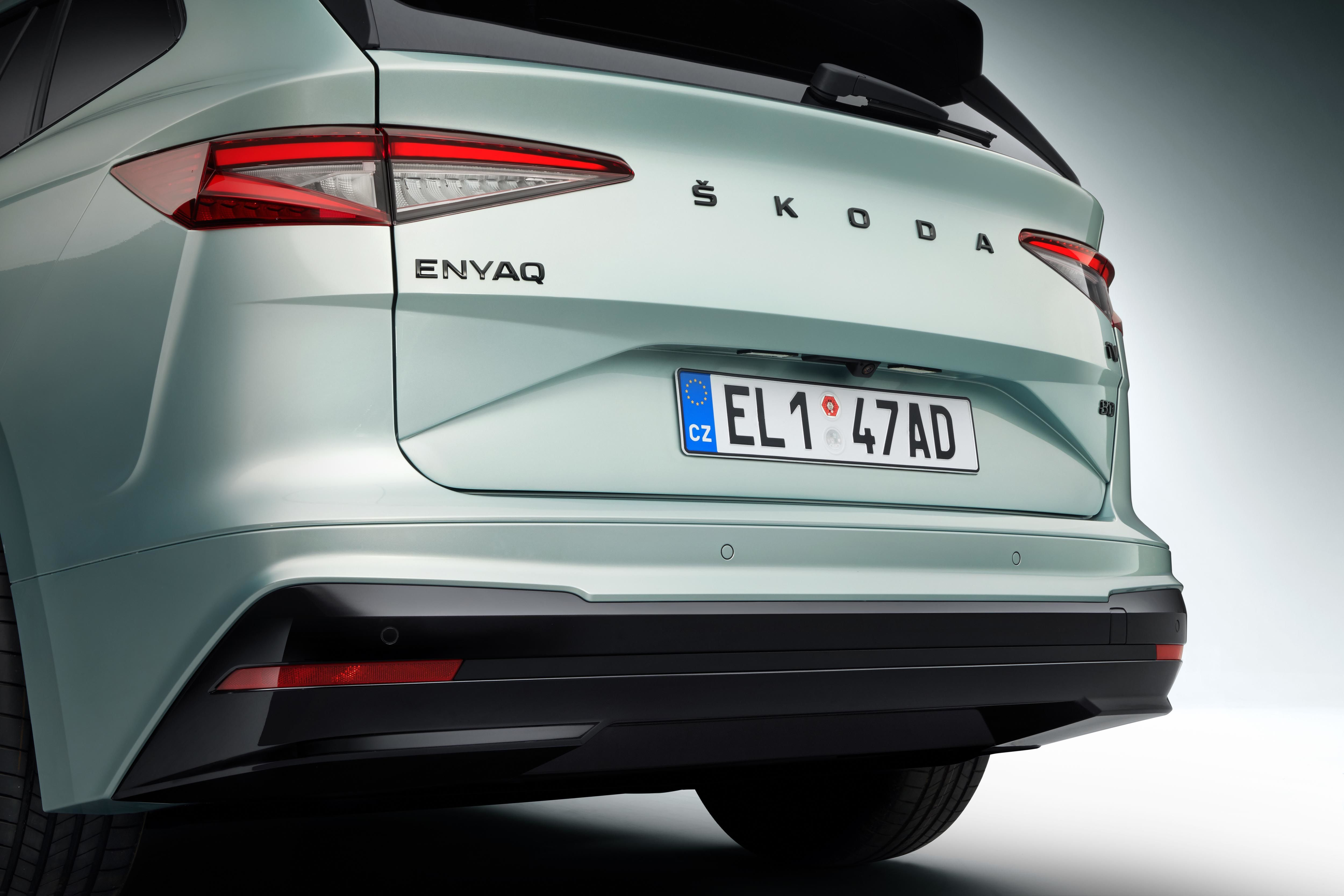 Skoda Enyaq iV will come with a set of three battery packs. The 55kWh battery provides 340km of driving range, the 62kWh battery offers 390km of driving range and the 82kWh battery provides 510km of driving range.