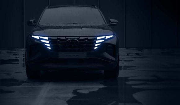 Hyundai Tucson 2021 appears to have several design upgrades on the outside.