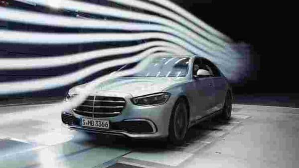 Mercedes S-Class 2021 gets new aerostrips on the inside of the ORVMs which seek to improve its aerodynamic credentials. The car has a drag coefficient of just 0.22.