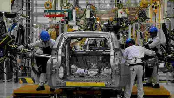 File photo of a car factory used for representational purpose only (REUTERS)