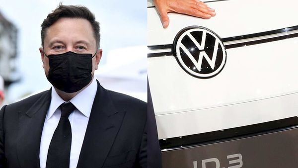 Elon Musk test-drove the ID.3 when he made a final stopover to meet with one of his biggest competitors, Volkswagen CEO Herbert Diess.