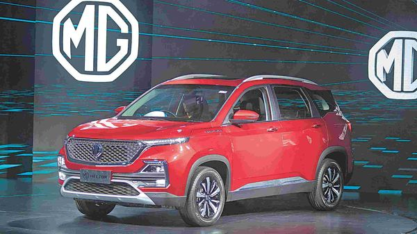 MG has faced robust demand for its Hector SUV which went on sale in June 2019.