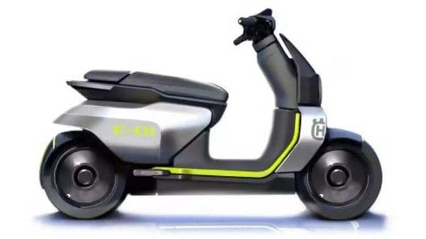 Husqvarna's electric scooter concept