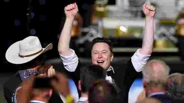 Tesla CEO Elon Musk pictured. (REUTERS)