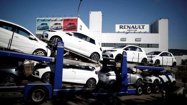 Renault Zoe EVs (REUTERS)