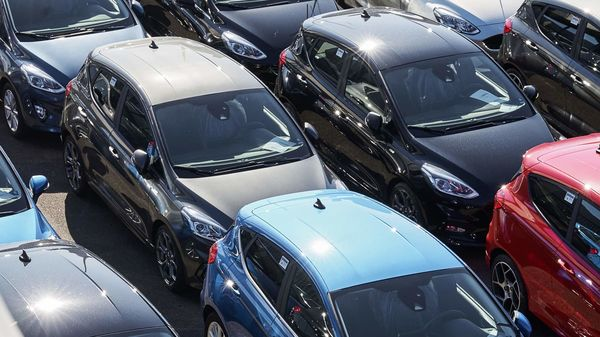 Total vehicle sales in India across categories declined 26.81 per cent last month compared to August 2019. (File photo used for representational purpose) (Bloomberg)