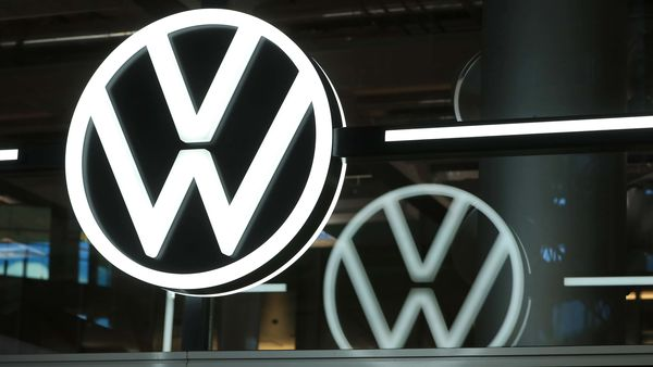 A Volkswagen (VW) logo (Bloomberg)