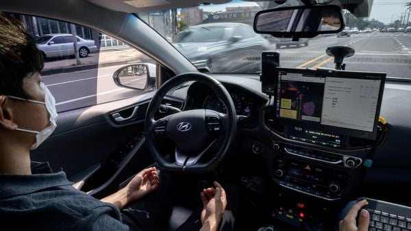 File photo of a self-driving car used fr representational purpose only