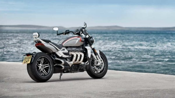 Triumph to launch Rocket 3 GT in India on September 10.