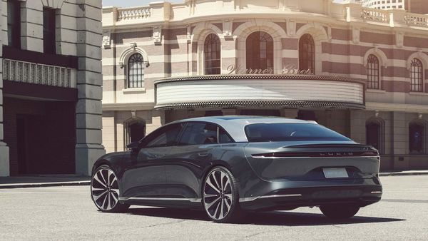 Lucid claims the Air will also be the fastest charging electric vehicle ever offered and has an extended-range capability that achieves an estimated EPA range of up to 832 kms on a single charge.
