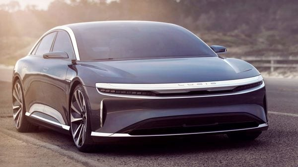 Lucid Motors has unveiled the production version of its Air electric sedan in a global web broadcast from its Silicon Valley headquarters