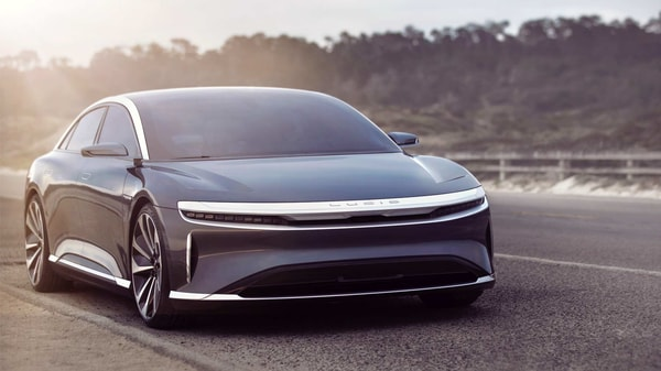 Lucid unveiled the production version of Air electric sedan with an estimated range of 517 miles.