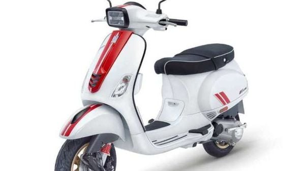 Vespa Racing Sixties image used for representational purpose only.