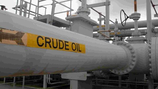 Representational file photo of a crude oil pipeline. (REUTERS)