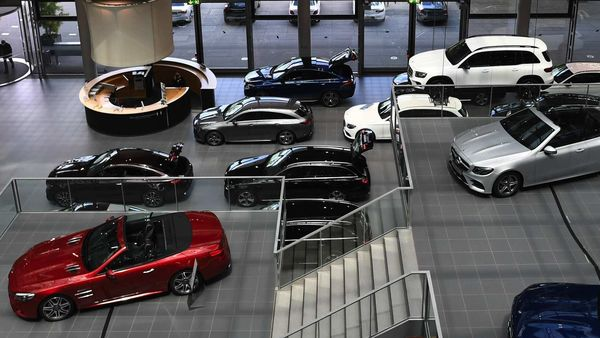 A Mercedes-Benz showroom. (File photo) (Bloomberg)