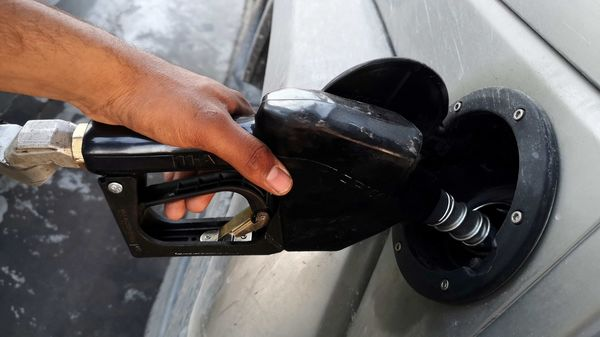 File photo of a gasoline pump used for representational purpose only (REUTERS)