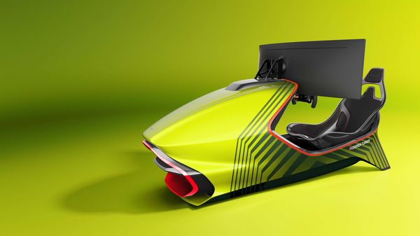 AMR-C01 promises to take simulated racing experience to the next level.