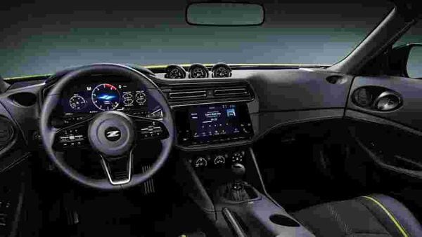 The Z Proto gets a 12.3-inch instrument cluster and a nine-inch infotainment screen inside the cabin.