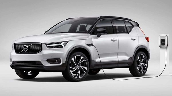 Photo of a Volvo XC40 plug-in hybrid SUV. (Photo courtesy: Volvo)